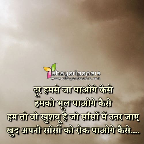 love shayari in hindi for girlfriend 2 lines