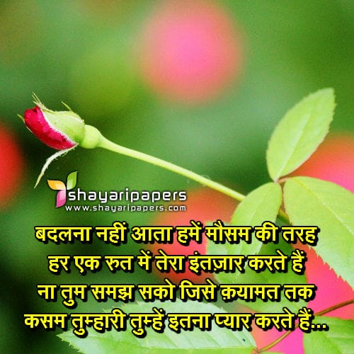 lovely valentine day shayari