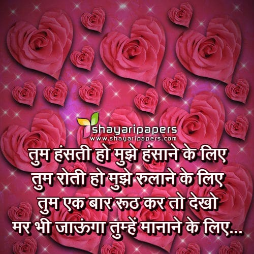 true love shayari in hindi with image