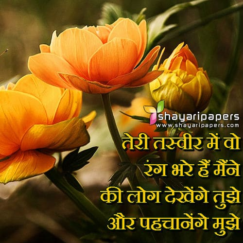 romantic shayari on love 2 line